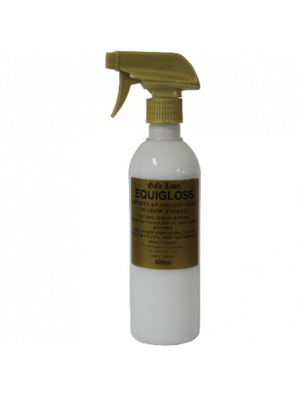 Gold Label Equigloss Spray płyn nabłyszczający