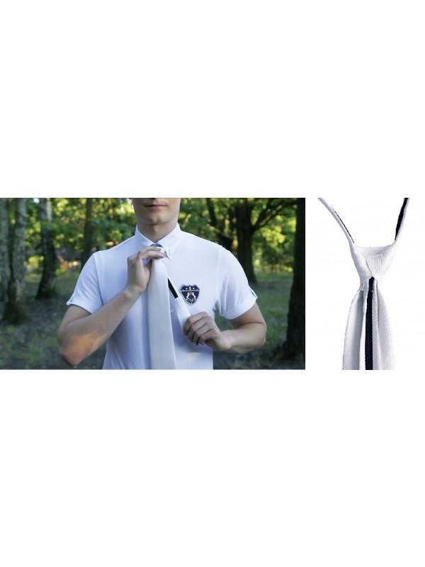FAIR PLAY, Krawat AS dla jeźdźca biały