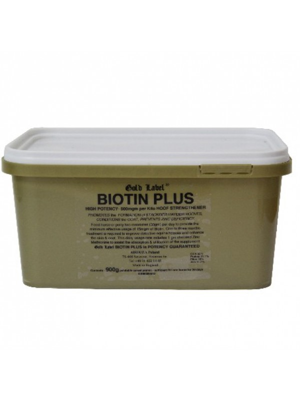 Gold Label Biotin Plus biotyna z cynkiem