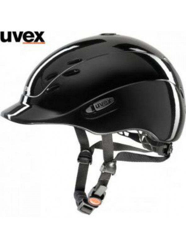 Kask UVEX model ONYXX black shiny