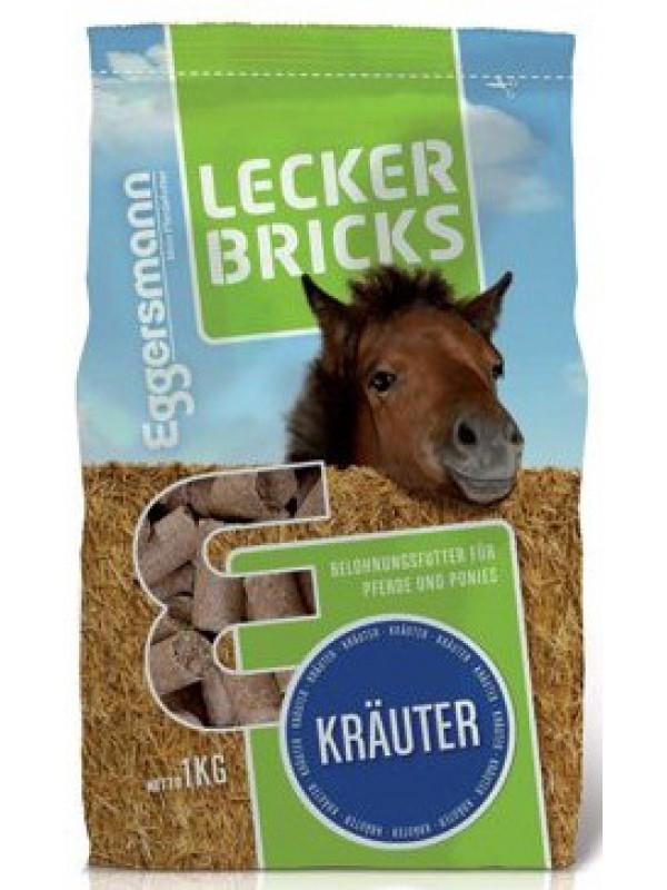 Eggersmann Smakołyki Lecker Bricks ZIOŁOWE