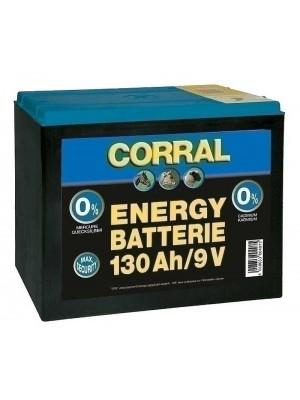 CORRAL, Bateria 130AH/9V 24h
