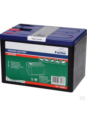 KRAMP, Bateria alkaliczna, 9V 120Ah