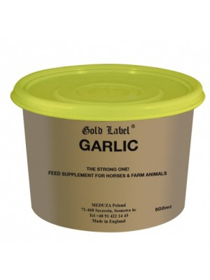 GOLD LABEL, Garlic - czosnek 0,5kg