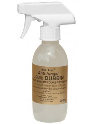 GOLD LABEL, Spray konserwujący do wyrobów skórzanych ANTI FUNGAL LIQUID DUBBIN 250 ml 24h