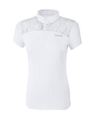 PIKEUR, Koszulka konkursowa MELENIE, WHITE