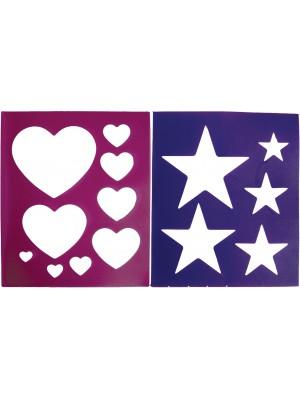 QHP, Szablon do wzorów HEART/STAR