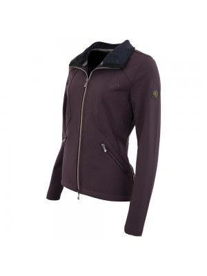 BR, Kurtka damska softshell PAMELA, PLUM PERFECT