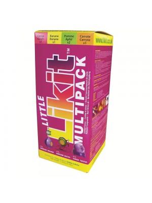 LIKIT, Pakiet smakowych lizawek dla koni LITTLE LIKIT MULTIPACK 5 x 250 g