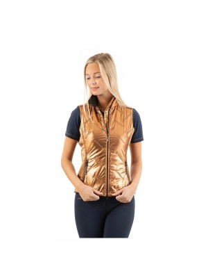 ANKY, Kamizelka QUILTED, COPPER