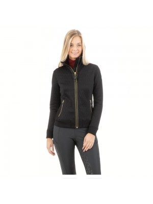 ANKY, Bluza SWEAT JACKET 3D, BLACK, jesień/zima 2020