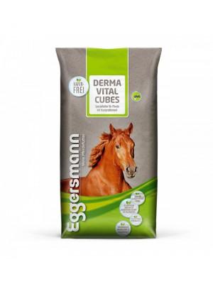 EGGERSMANN, Pasza dla koni z problemami skórnymi DERMA VITAL CUBES, 25 kg