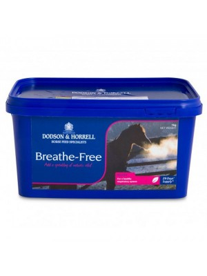 DODSON & HORRELL, Dodatek paszowy BREATHE FREE WITH QLC, 1 kg