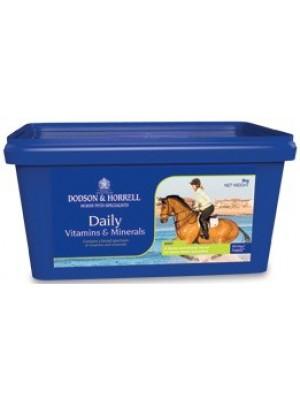 DODSON & HORRELL, Witaminy i minerały DAILY VITAMINS & MINERALS, 2 kg