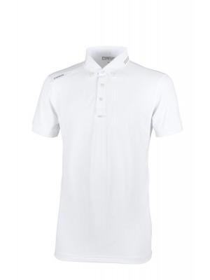 PIKEUR, Koszulka konkursowa męska ABROD, WHITE