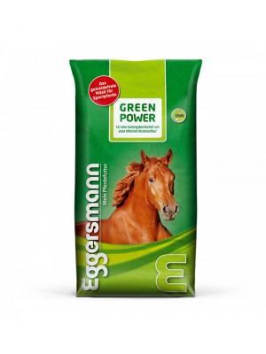 EGGERSMANN, Bezzbożowa pasza dla koni sportowych GREEN POWER GETREIDEFREI, 15 kg