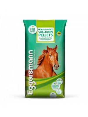 EGGERSMANN, Granulat pełnoziarnisty HORSE&PONY VOLLKORN PELLETS, 25 kg