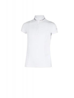 PIKEUR, Młodzieżowa koszulka konkursowa SUANA, WHITE