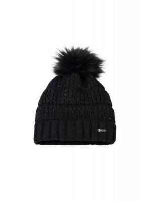PIKEUR, Czapka zimowa z pomponem PRIME, BLACK
