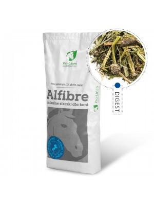 PRO-LINEN, Sieczka dla koni objętych ryzykiem choroby wrzodowej ALFIBRE DIGEST 15 kg 24h