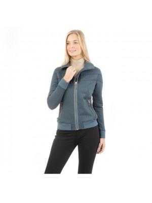 ANKY, Bluza SWEAT JACKET 3D, SLATE BLUE, jesień/zima 2020 24h