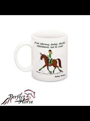 PERFECT HORSE, Kubek CARTOON UJEŻDŻENIE