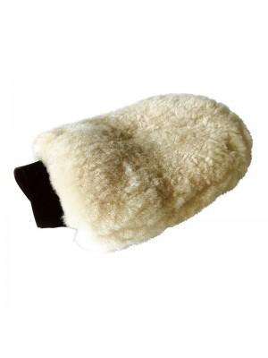 KAVALKADE, Rękawica do czyszczenia z naturalnego futerka