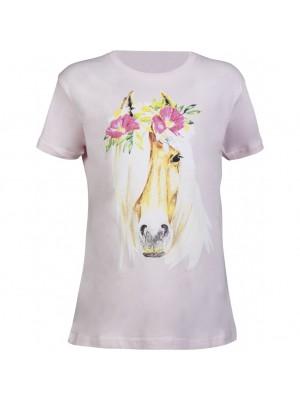 HKM, Koszulka dziecięca FLOWER HORSE 24h