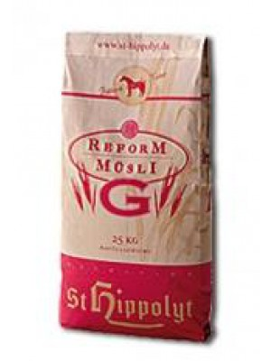 "ST HIPPOLYT, REFORMMUSLI ""G"", 20kg 24h"