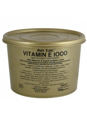 Vitamin E 1000 Gold Label witamina E