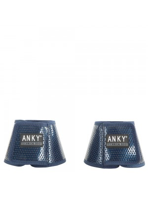 ANKY, Kalosze BELL BOOT CLIMATROLE SHINY ESTATE BLUE