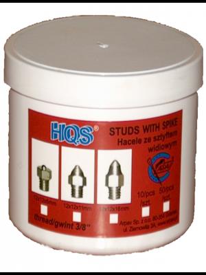HQS, Hacele sześciokątne stożkowe z widią,11 mm 24h