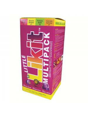 LIKIT, Pakiet smakowych lizawek dla koni LITTLE LIKIT MULTIPACK 5 x 250 g 24h