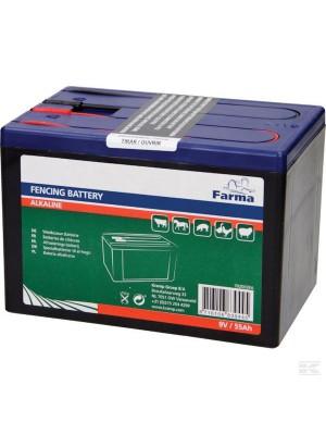 KRAMP, Bateria alkaliczna, 9V 55Ah 24h