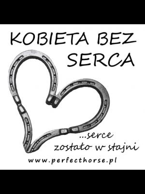 PERFECT HORSE, Naklejka samochodowa KOBIETA BEZ SERCA