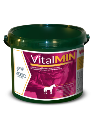 MEBIO, Witaminy i minerały dla koni hodowlanych i sportowych VitalMIN 3 kg 24h