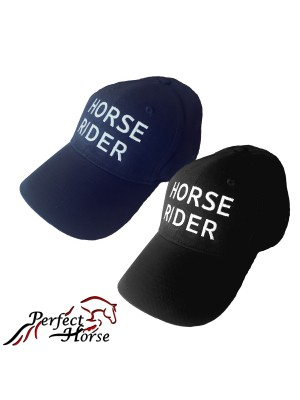 PERFECT HORSE, Czapka z daszkiem HORSE RIDER 24h
