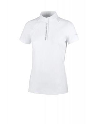 PIKEUR, Damska koszulka konkursowa CUBA, WHITE