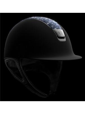 SAMSHIELD, Kask SHADOWMATT, CRYSTAL TOP bermuda blue, czarny z czarnym chromem