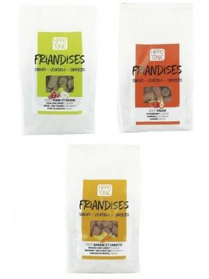 HIPPO TONIC, Smakołyki dla koni FRIANDISES, 1 kg 24h