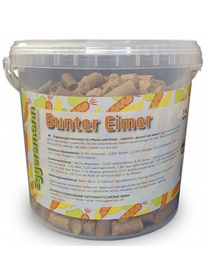 EGGERSMANN, Cukierki LECKER BRICKS BUNTER EIMER, 3kg
