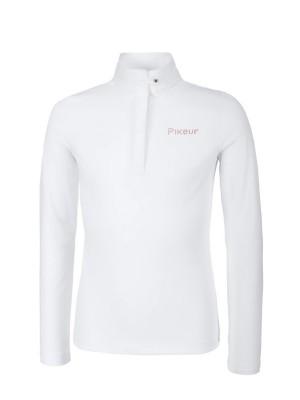 PIKEUR, Młodzieżowa koszulka konkursowa MERIDA, WHITE