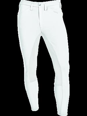 PIKEUR, Bryczesy męskie ROSSINI GRIP II, WHITE