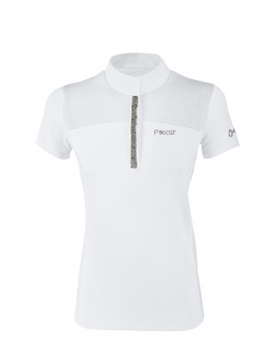 PIKEUR, Damska koszula konkursowa EBONY, WHITE 24h