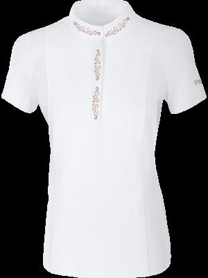 PIKEUR, Koszulka konkursowa ISIS, WHITE/ROSE GOLD