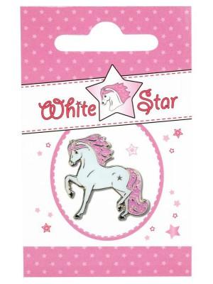 HAPPY ROSS, Przypinka WHITE STAR