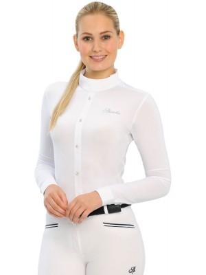 SPOOKS, Koszula konkursowa z długim rękawem FIDELIAH, WHITE