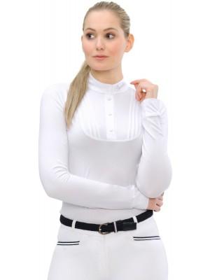 SPOOKS, Koszula konkursowa z długim rękawem TARAH, WHITE