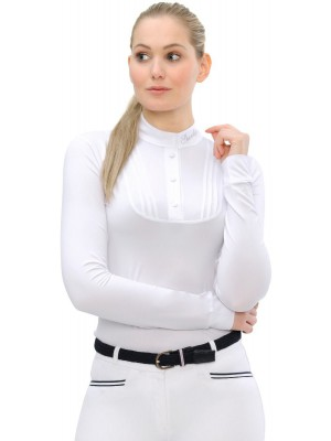 SPOOKS, Koszula konkursowa z długim rękawem TARAH, WHITE 24h