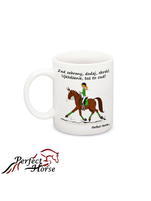 PERFECT HORSE, Kubek CARTOON UJEŻDŻENIE 24h
